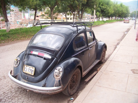 Ulice Cusco