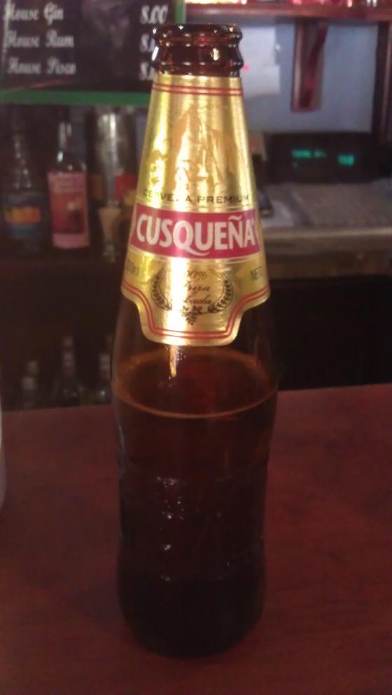 Cusquena - Lokalne piwo z Cusco