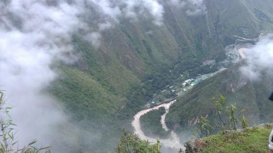 Widok na dolinę Machu