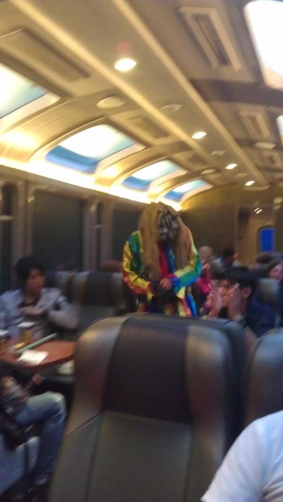 Droga powrotna w Peru Rail
