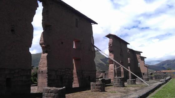 Ruiny świątyni Wirakocza
