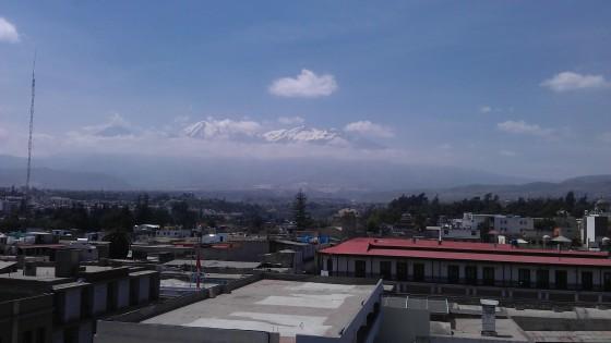 Panorama - spójrzcie w górę, to nie chmury ;)