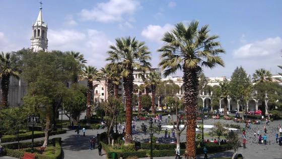 Plaza Del Armas - Arequipa