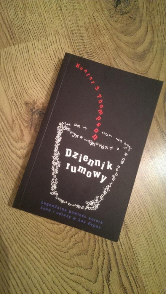 Dziennik Rumowy - Hunter S. Thompson - Wydawnictwo Niebieska Studnia