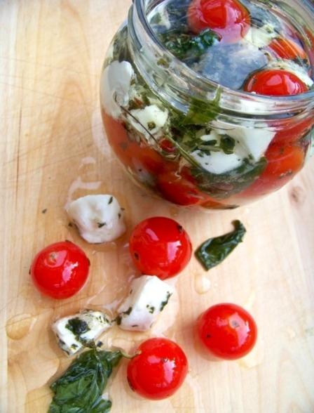 pomidorki z mozzarellą