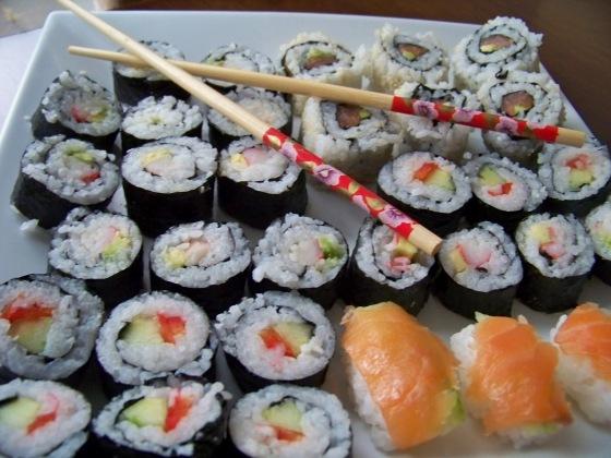 sushi efekt