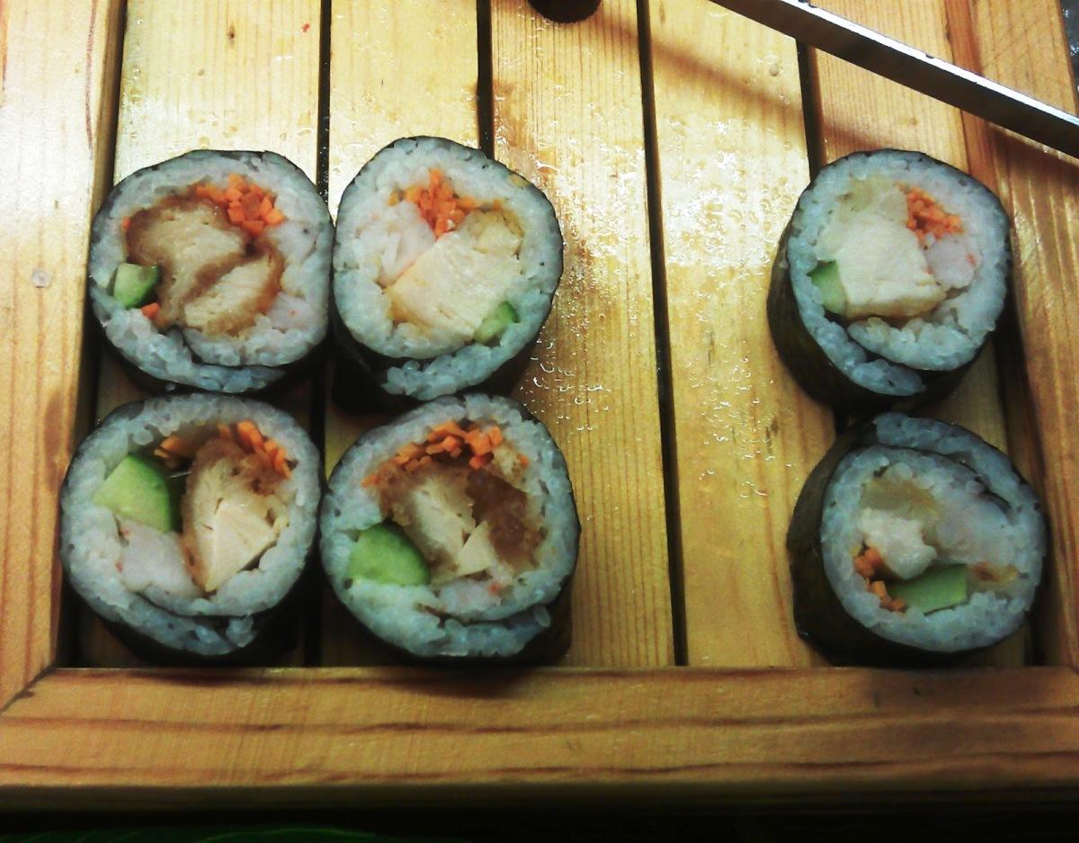 Sushi z kurczakiem? Dlaczego nie!