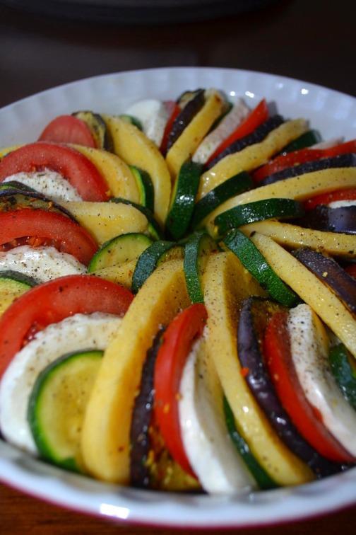 zapiekanka warzywna z semoliną 1