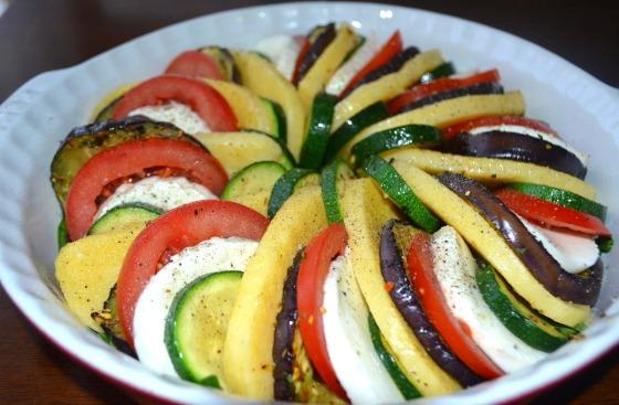 zapiekanka warzywna z semoliną