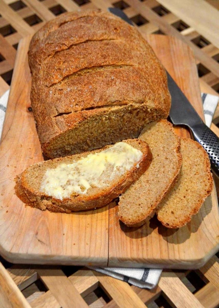 Norweski chleb z solą morską